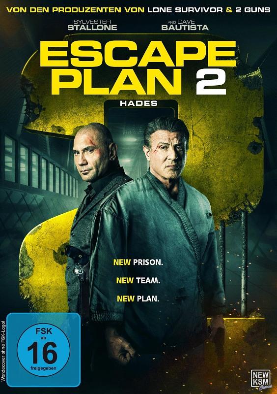 Escape Plan 2 - Hades DVD Bild
