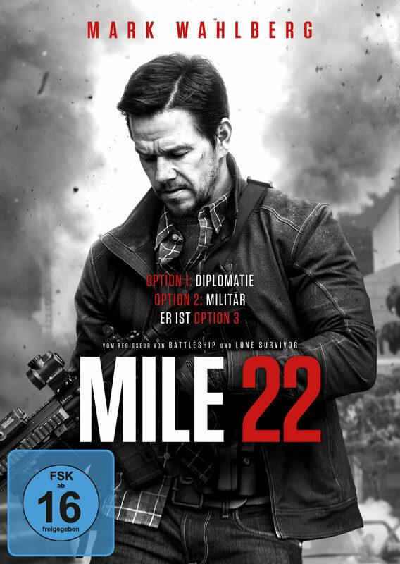 Mile 22 DVD Bild