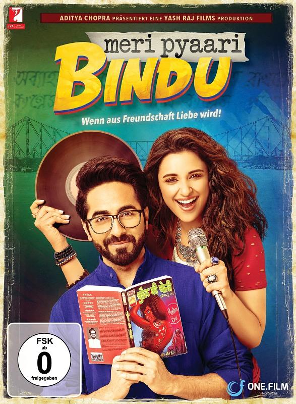 Meri Pyaari Bindu - Wenn aus Freund...  (OmU) DVD Bild