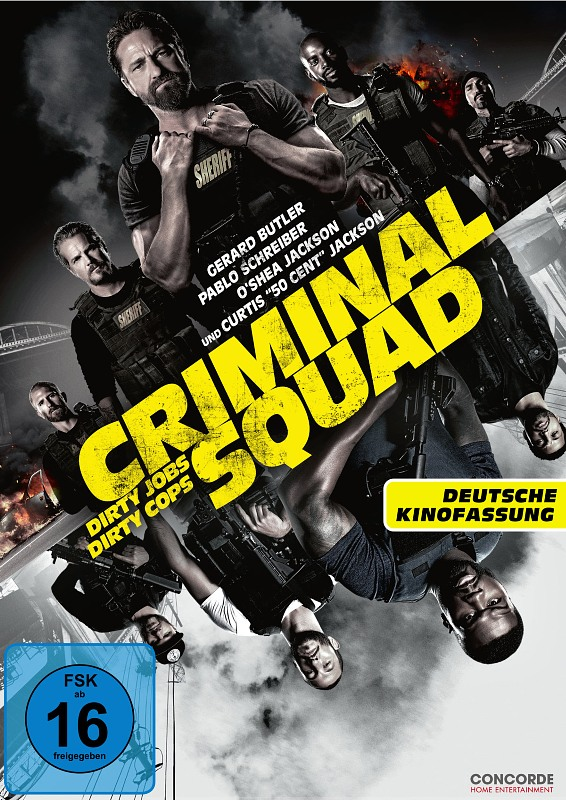 Criminal Squad DVD Bild
