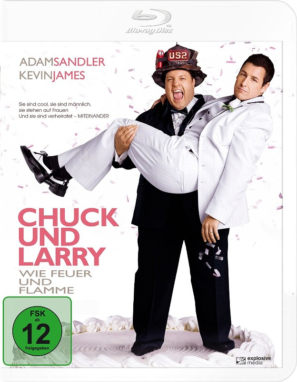 Chuck und Larry - Wie Feuer und Flamme Blu-ray Bild