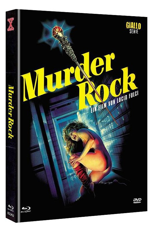 Murder Rock UNCUT 2-Disc Mediabook (Cover A) - limitiert & nummeriert auf444 Stk. Blu-ray Bild