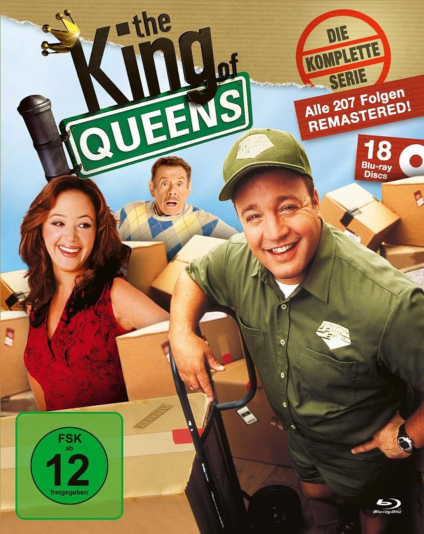 The King of Queens - Die komplette Serie Blu-ray Bild
