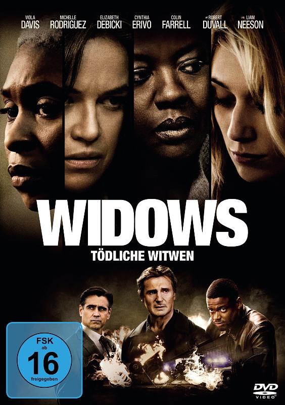 Widows - Tödliche Witwen DVD Bild