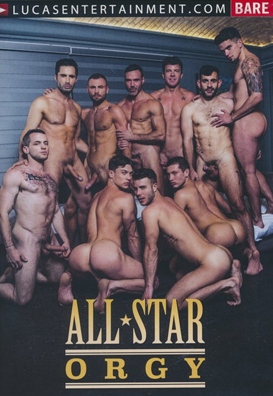 All Star Orgy Gay DVD Bild