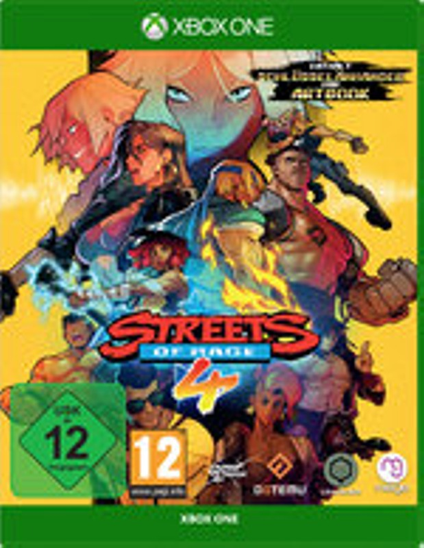 Streets of Rage 4 XBox One Bild