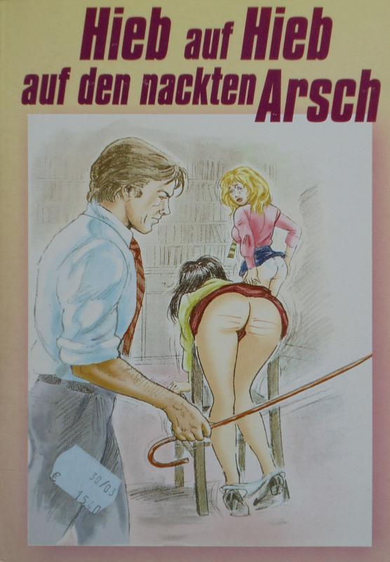 Hieb auf Hieb auf den nackten Arsch Buch Bild