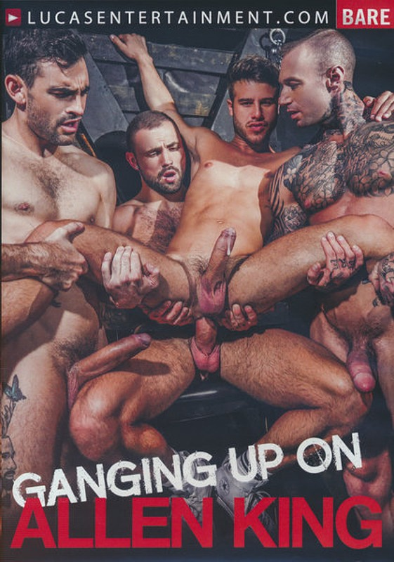 Ganging Up On Allen King Gay DVD Bild