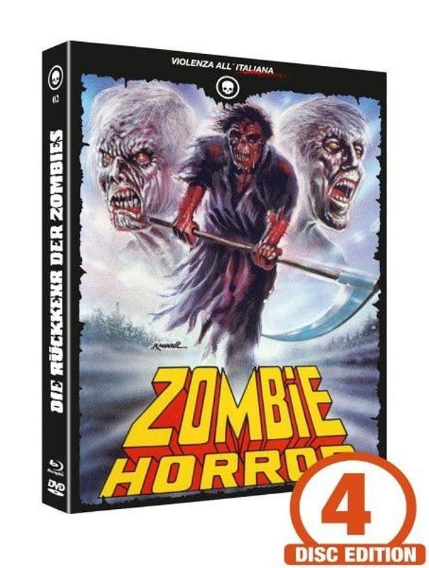 Die Rückkehr der Zombies - Mediabook - Cover D [Blu-ray+DVD+CD] Blu-ray Bild