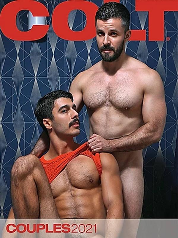 Colt Couples 2021 - Calender Gay Buch / Magazin Bild