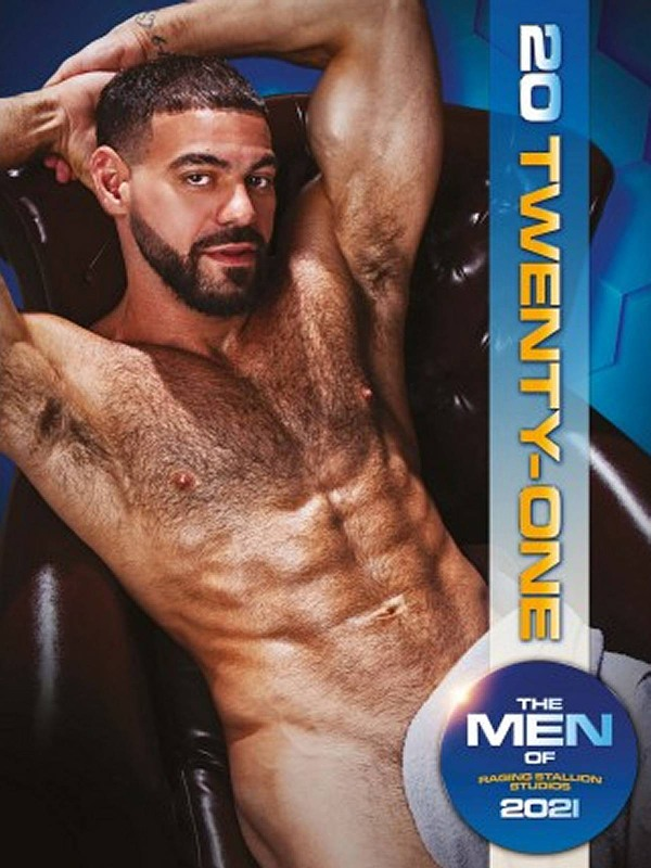 The Men of Raging Stallion 2021 - Wandkalender Gay Buch / Magazin Bild