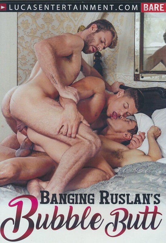 Banging Ruslan's Bubble Butt Gay DVD Bild
