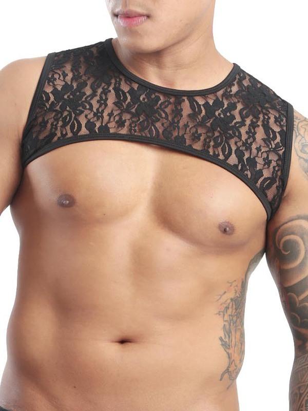 GBGB Leonardo Harness - Lace Flower, Gr.: S Gay Kleidung Bild