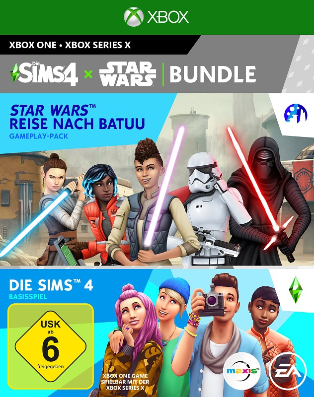 Die Sims 4 + Star Wars: Reise nach Batuu Add-On XBox One Bild