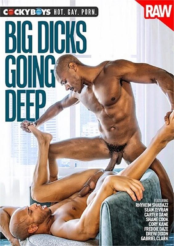 Big Dicks Going Deep Gay DVD Bild