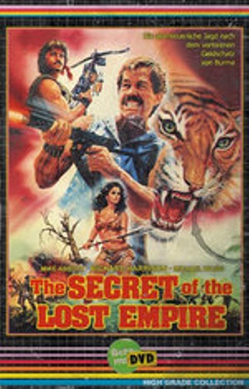 Secret of the Lost Empire DVD Bild