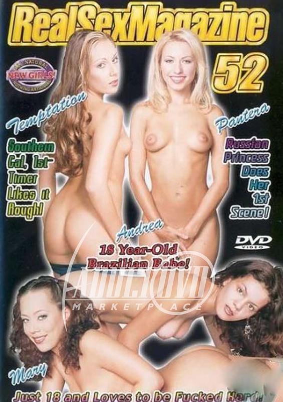 Real Sex Magazine 52 DVD Bild