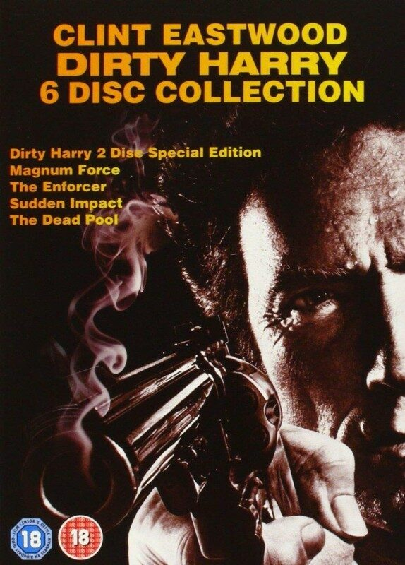 Clint Eastwood - Dirty Harry - 6 Disc Collection DVD Bild