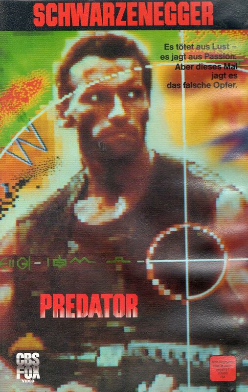 Predator VHS-Video Bild
