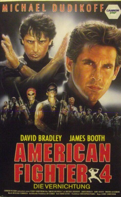 American Fighter 4 - Die Vernichtung VHS-Video Bild
