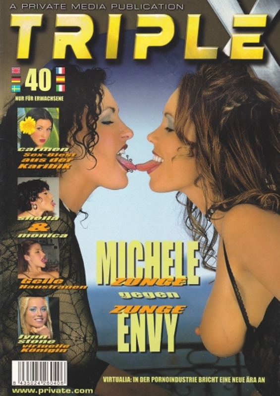 Triple X 40 Magazin Bild