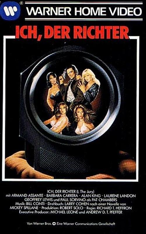 Ich, Der Richter VHS-Video Bild