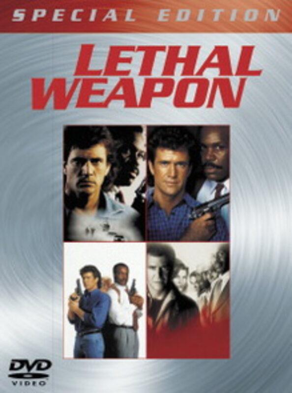 Lethal Weapon 1-4  [DC]  Box DVD Bild
